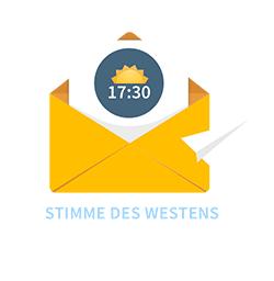 Stimme des Westens, Newsletter-Logo